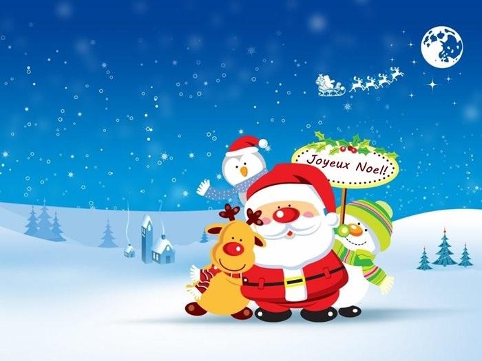 Joyeux Noel 2019 Voeux Message Texte Image Carte De Noel